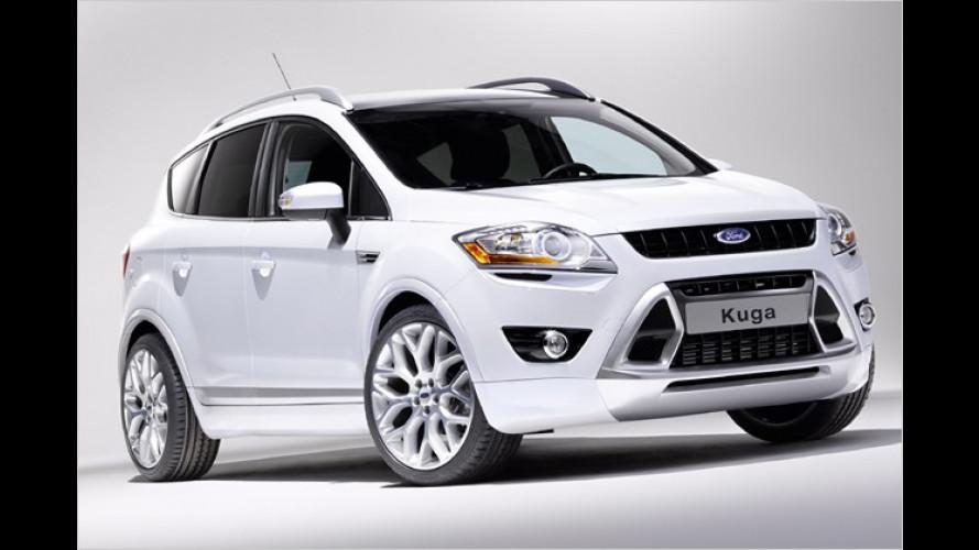 Ford Kuga mit zahlreichen Personalisierungsmöglichkeiten