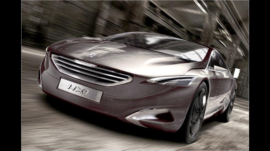 Verkniffene Katzenaugen: Concept-Car HX1 von Peugeot