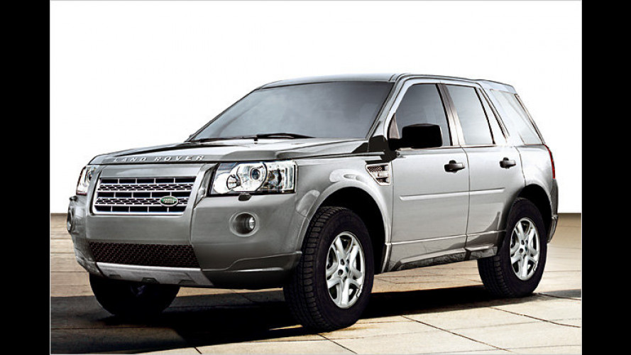Spar-Gang: Billiger Land Rover Freelander XE