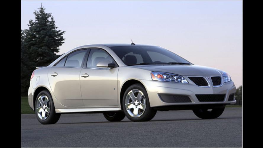 Frisch gemacht: Pontiac überarbeitet den G6
