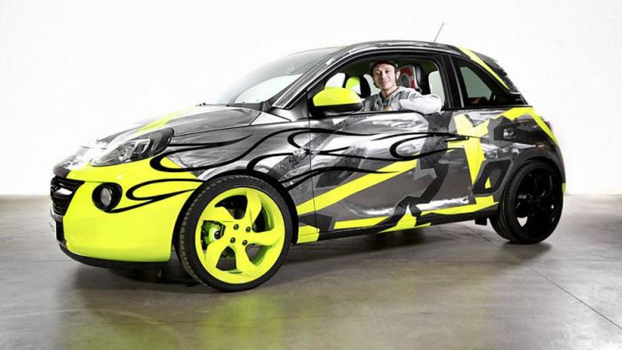 Opel Adam by Valentino Rossi listed on eBay, earnings will be donated to a hospital