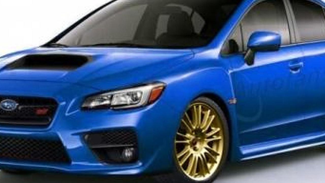 2015 Subaru WRX STI render 14.11.2013