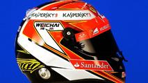Kimi Raikkonen helmet 2014