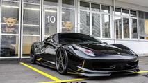 DMC blacks out the Ferrari 458 Italia