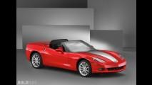 Chevrolet Corvette Convertible Street Appearance SEMA