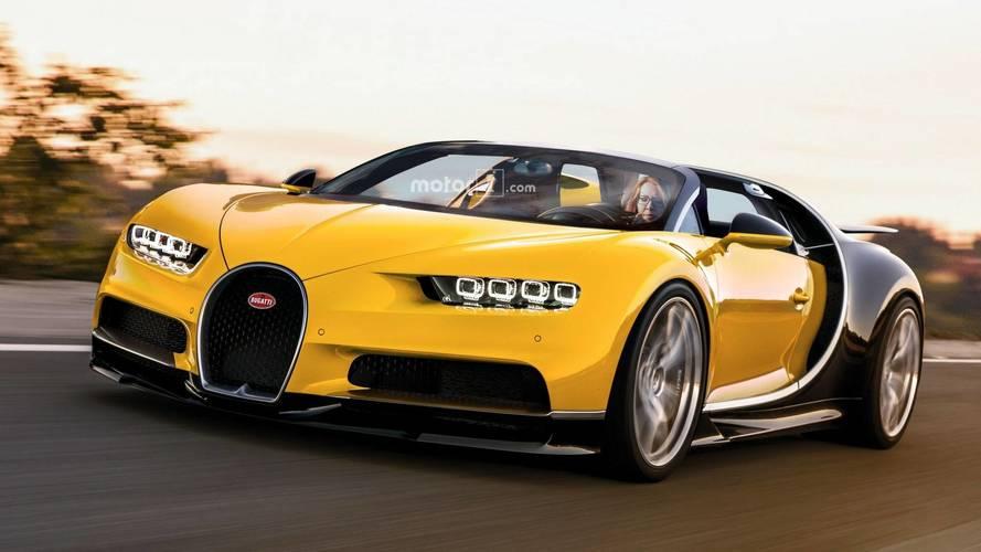 Bugatti Chiron - Nous avons imaginé une version Roadster