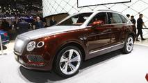 Bentley Bentayga Hybrid at the 2018 Geneva Motor Show