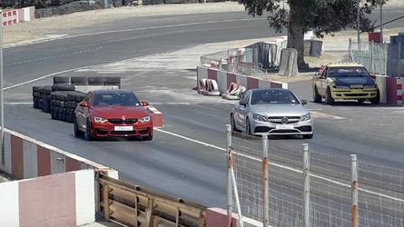 M4 Competition Drag Races AMG C63 S Coupe; Germany Wins