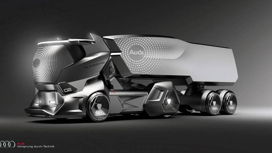 Audi HMV konsepti muhteşem görünüyor