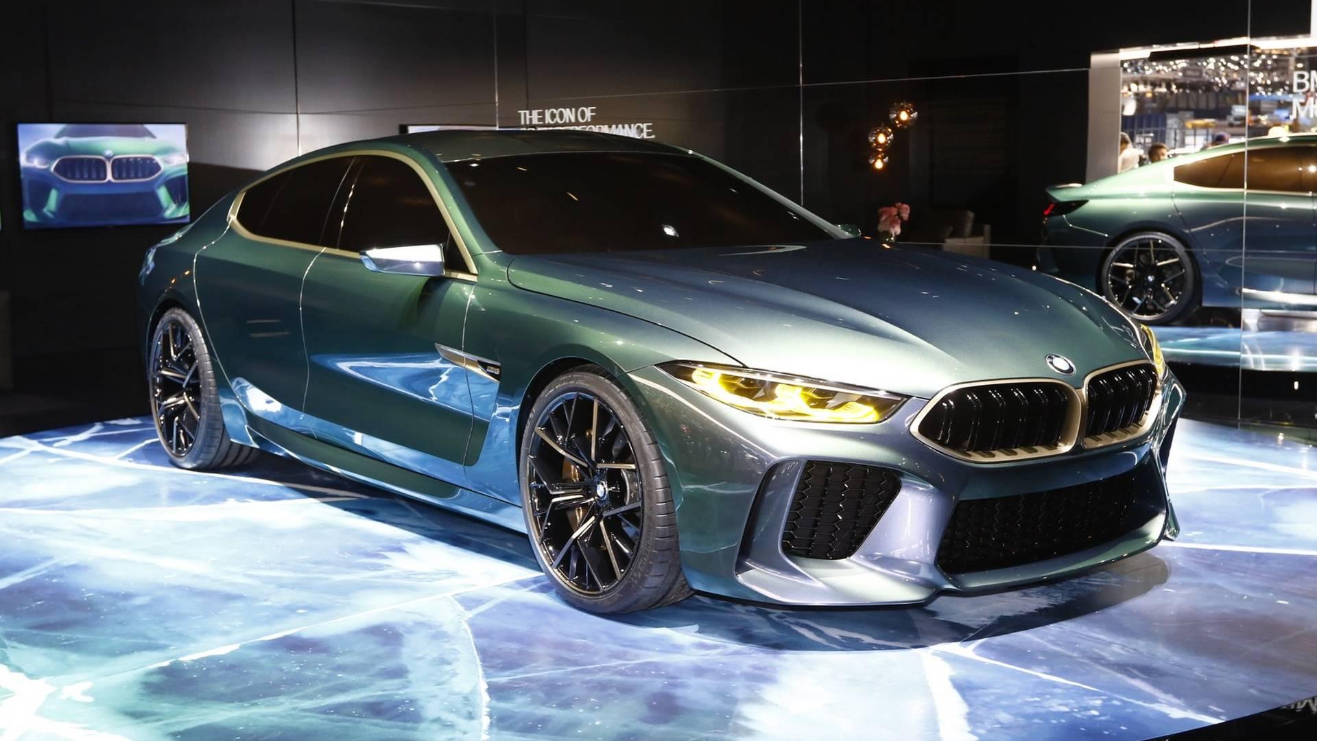 BMW M8 Gran Coupe Concept Filmed At Villa d'Este 2018