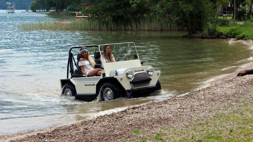 France's Amphibious Mini Moke Is No Joke