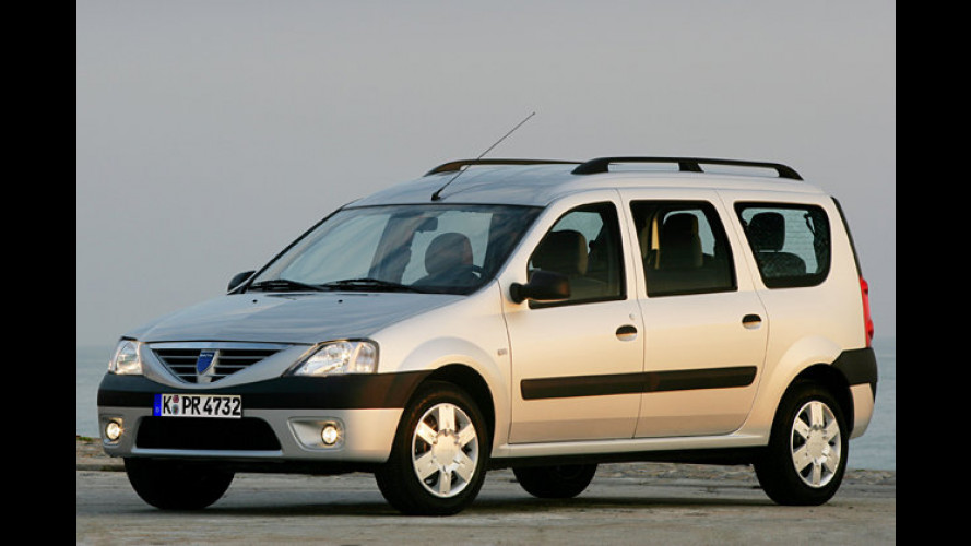 Billister Kombi Deutschlands: Dacia-Logan-Preise sind da
