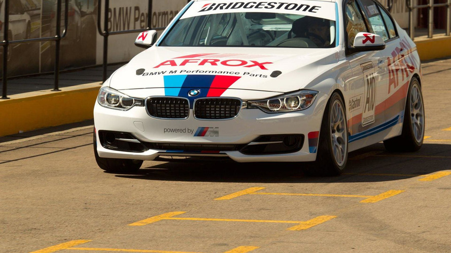 BMW 3 Series sedan race car debuts in South Africa
