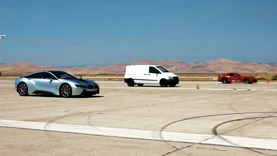 Atieva EV prototype beats BMW i8, Dodge Viper in latest drag race