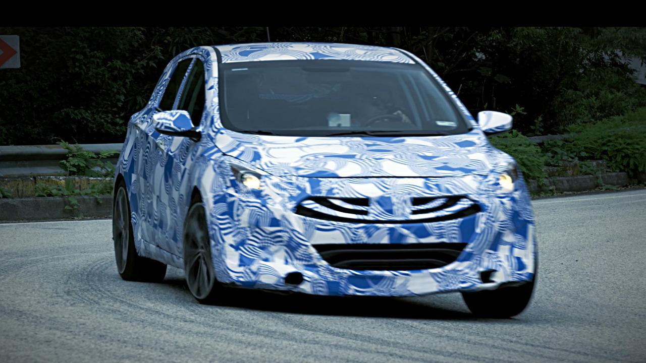 Hyundai i30 N teaser