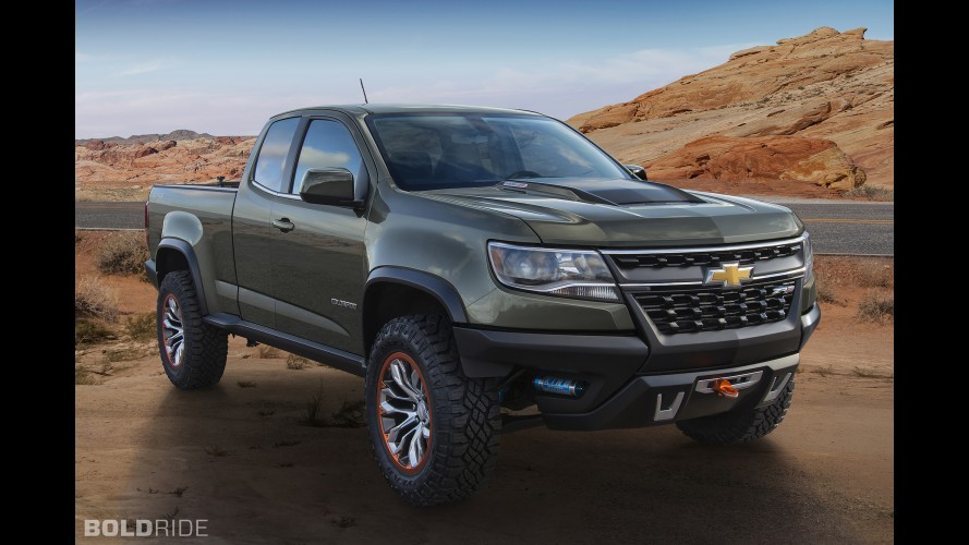 Chevrolet Colorado ZR2 Concept