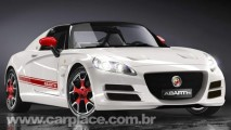 Abarth Coupé - Novo modelo esportivo baseado no Fiat 500 pode chegar 2010