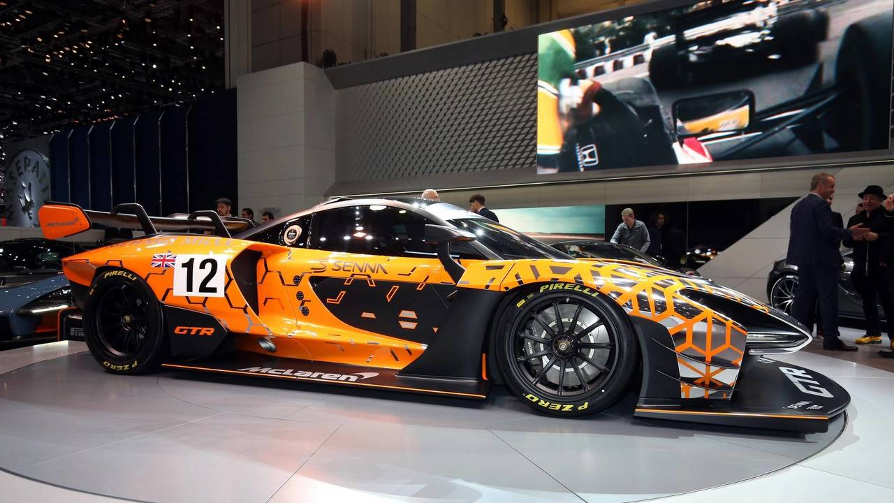 7. McLaren Senna GTR Concept