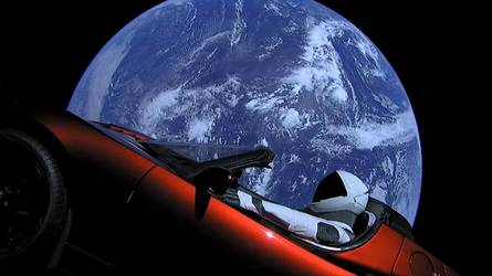 Mais que va devenir la Tesla lancée dans l'espace?