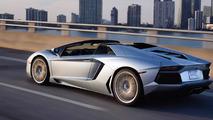 Lamborghini Aventador Roadster gris