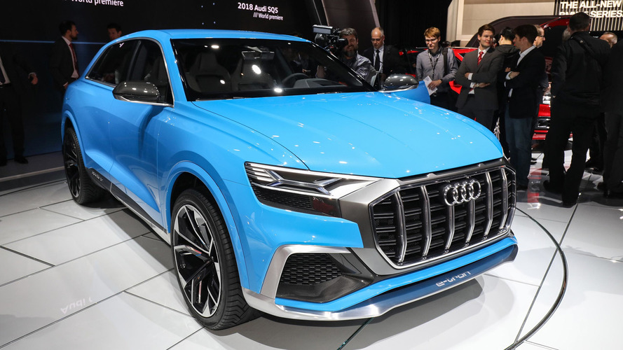 Audi Q8 concept previews future flagship coupe-SUV