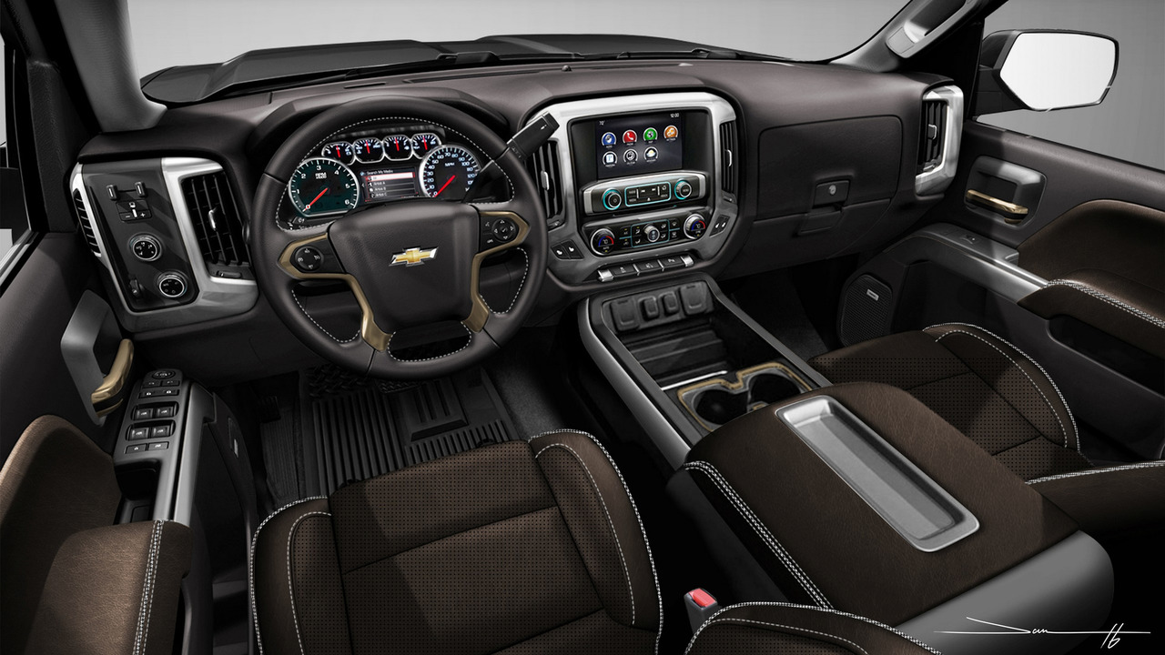 chevy silverado sema concepts are ready for winter and. Black Bedroom Furniture Sets. Home Design Ideas