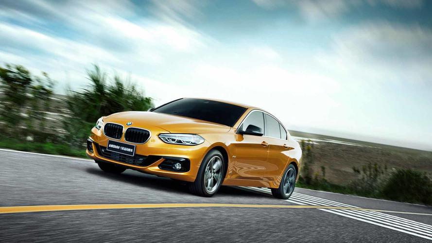 BMW Série 1 Sedan deve ficar longe da Europa. E do Brasil?