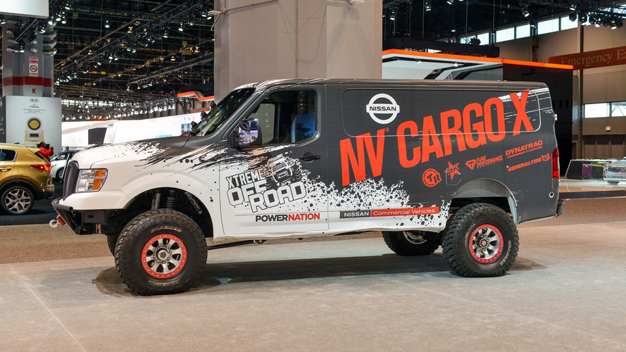 Nissan NV Cargo X is off-roader and support vehicle all in one