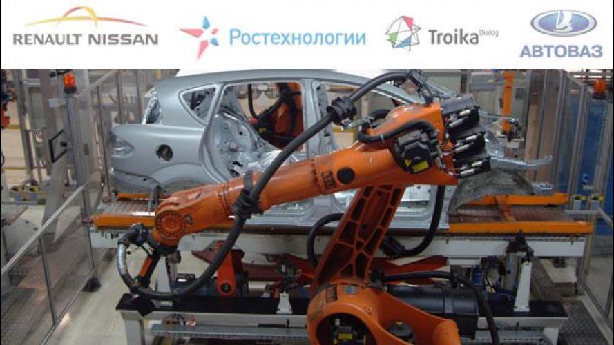 Renault apre a Nissan le porte della Russia