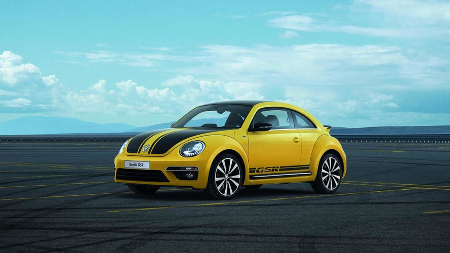 Volkswagen Beetle GSR limited edition pricing announced (US)