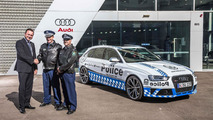 Audi RS4 Avant to perform police car duties for New South Wales police in Australia