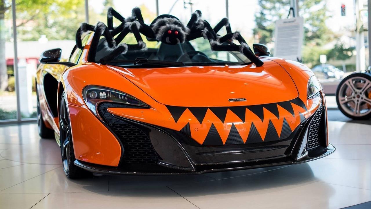 McLaren 650S Spider for Halloween