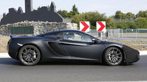 2014 McLaren 12C Spider facelift spied hiding minor front changes