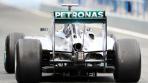 Nico Rosberg (GER) rear diffuser detail / XPB