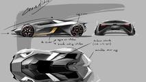 Lamborghini Diamante concept render