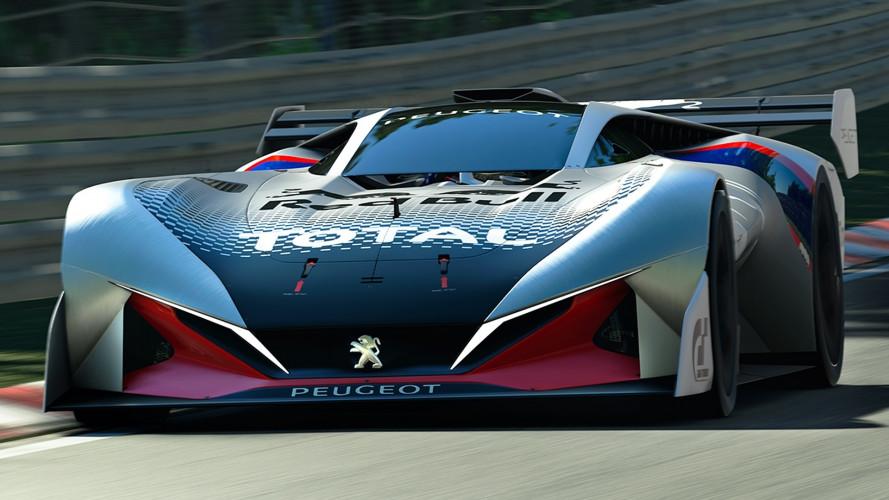 Peugeot L750 R HYbrid Vision Gran Turismo, leggera come l'aria