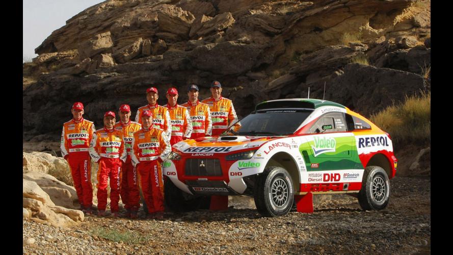 Mitsubishi lascia la Dakar