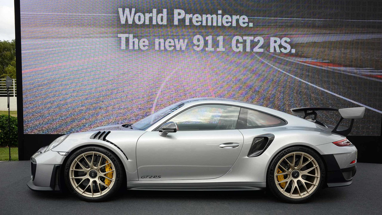 2018 Porsche 911 GT2 RS at 2017 Goodwood Festival of Speed