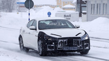 2018 Maserati Ghibli facelift spy photo