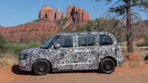 New black cab gets extreme hot weather testing in Arizona