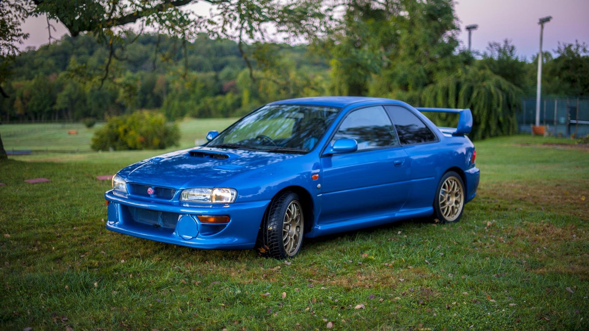 Imagining a modern day Subaru 22B STi
