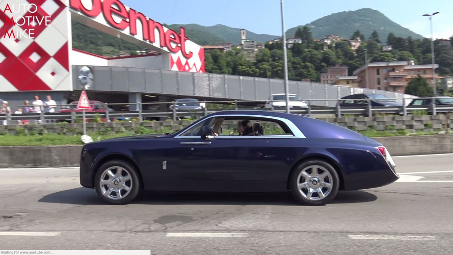 See The Rolls-Royce Sweptail Glide Through The Streets Of France