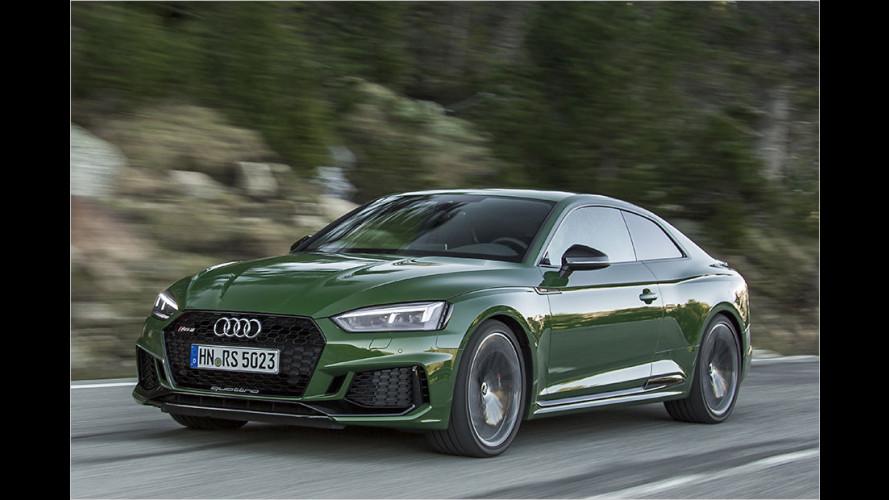 Neuer Audi RS 5 im ersten Test