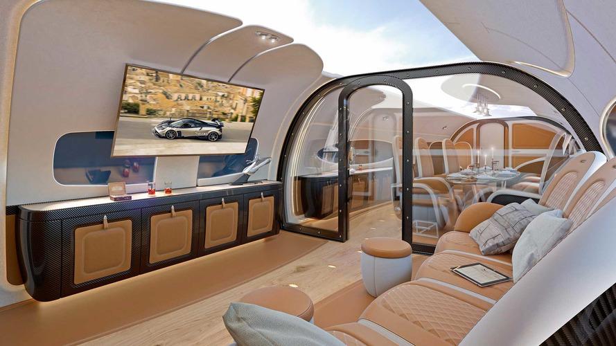Pagani s'associe à Airbus pour créer une cabine de jet