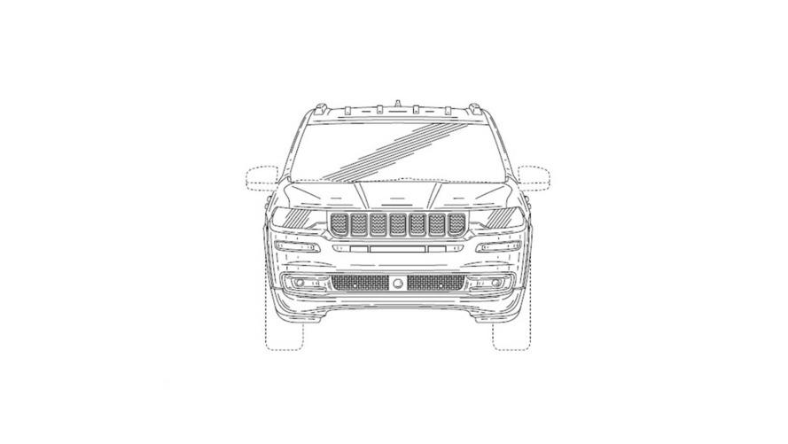 Jeep 7 plazas diseños de patente