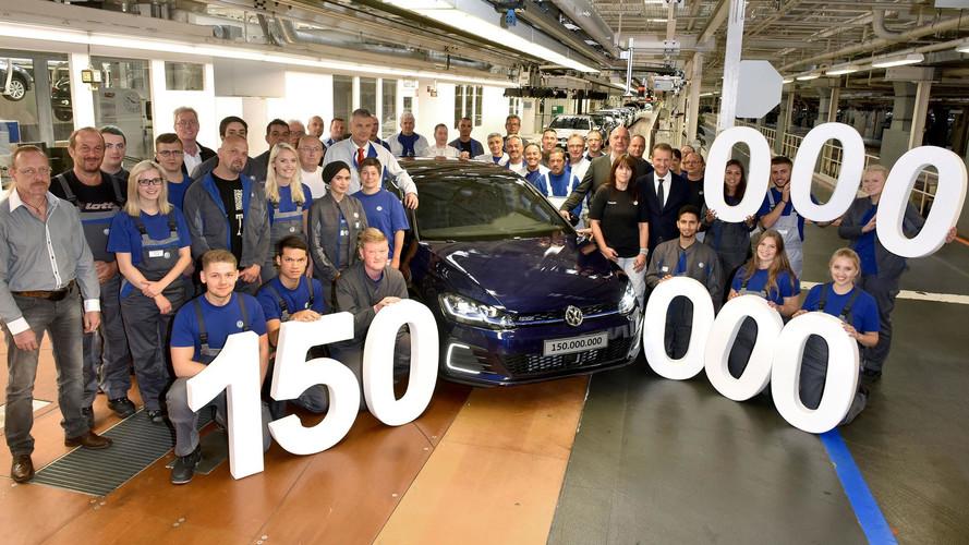 VIDÉO - La 150 millionième Volkswagen produite à Wolfsburg !