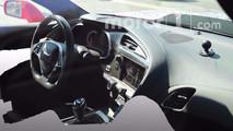 2018 Chevrolet Corvette ZR1 Interior Spy Photos