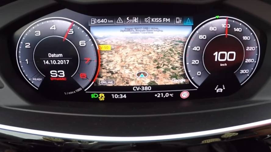 2018 Audi A8 acceleration test