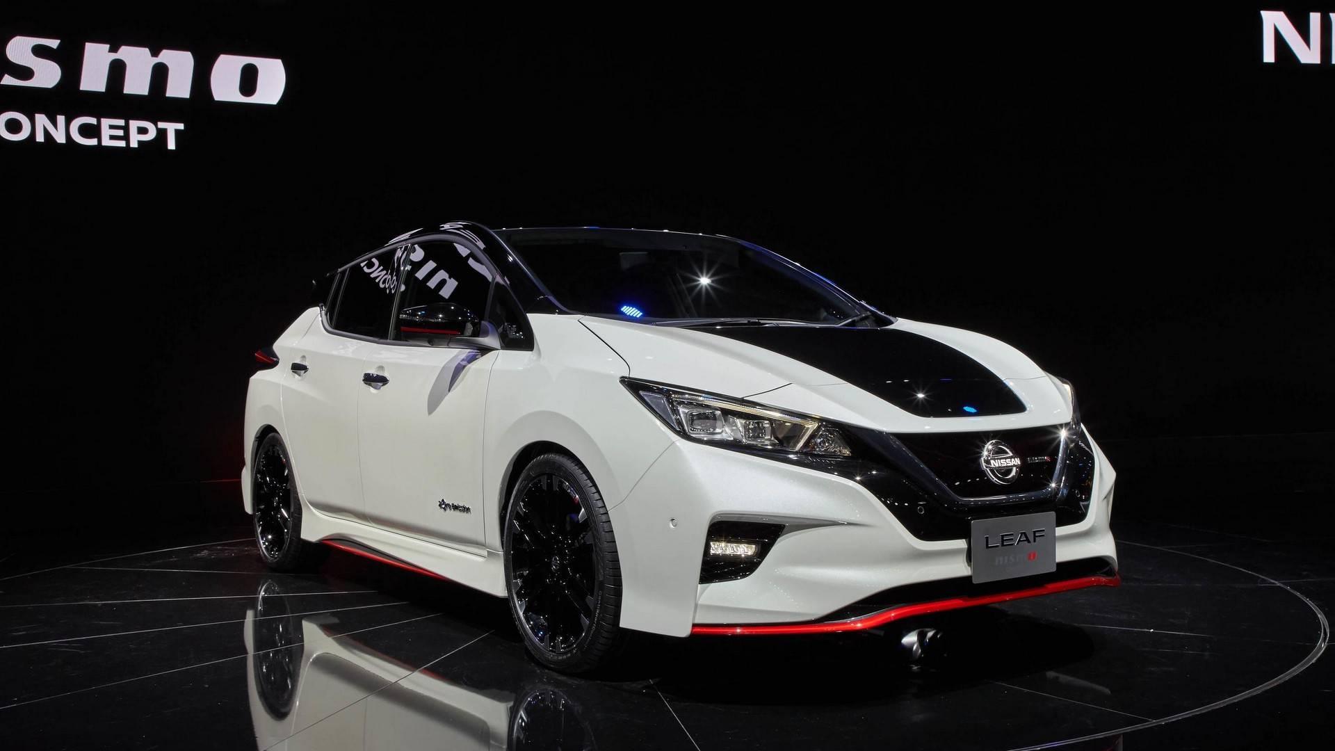 Aggressive-Looking Nissan Leaf Nismo Concept Debuts In Tokyo