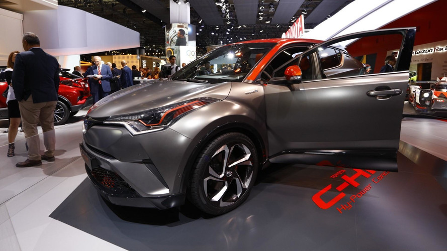 Toyota C-HR Hy-Power Concept Unveiled With More Hybrid Punch